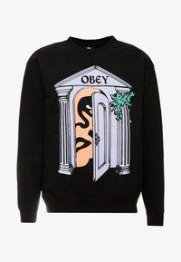 Obey Clothing - MAUSOLEUM - Felpa - black - 4