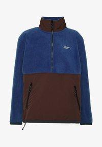Obey Clothing - GALLAGHER  - Forro polar - blue multi - 3