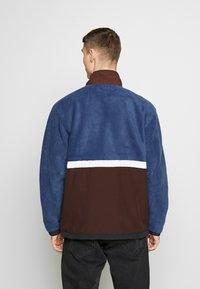 Obey Clothing - GALLAGHER  - Forro polar - blue multi - 2