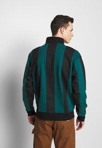 Obey Clothing - GOAL ZIP MOCK NECK - Sudadera - deep teal/multi - 2