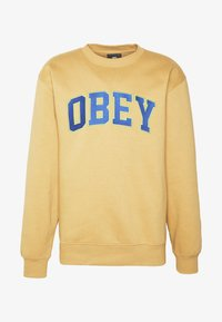 Obey Clothing - OBEY SPORTS II CREW - Mikina - almond - 4