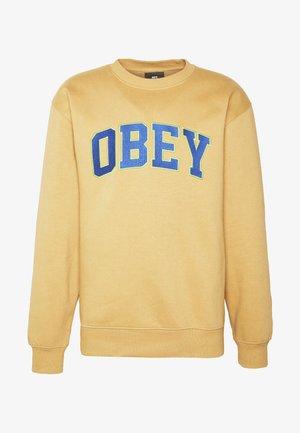 OBEY SPORTS II CREW - Sweatshirt - almond