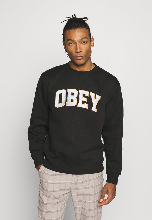 OBEY SPORTS II CREW - Felpa - black