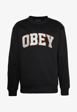 OBEY SPORTS II CREW - Sweatshirt - black