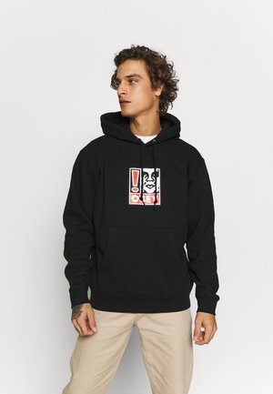 OBEY EXCLAMATION POINT - Luvtröja - black