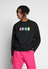 Obey Clothing - BIG SHOTS CREW - Sweatshirt - black - 0