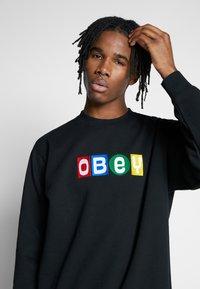 Obey Clothing - BIG SHOTS CREW - Sweatshirt - black - 4