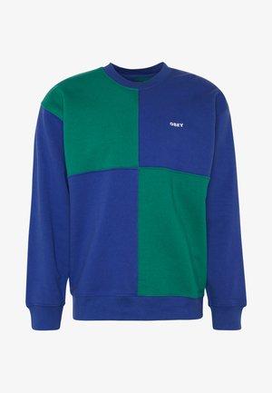 POLLEN CREW - Sweatshirt - ultramarine multi