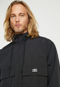 Obey Clothing - INLET - Wiatrówka - black - 3