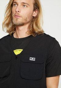 Obey Clothing - CEREMONY TECHNICAL VEST - Bodywarmer - black - 3