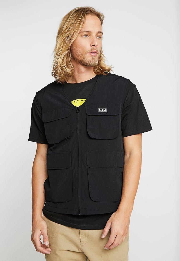 Obey Clothing - CEREMONY TECHNICAL VEST - Bodywarmer - black