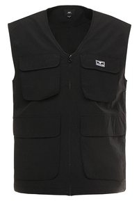 Obey Clothing - CEREMONY TECHNICAL VEST - Bodywarmer - black - 5