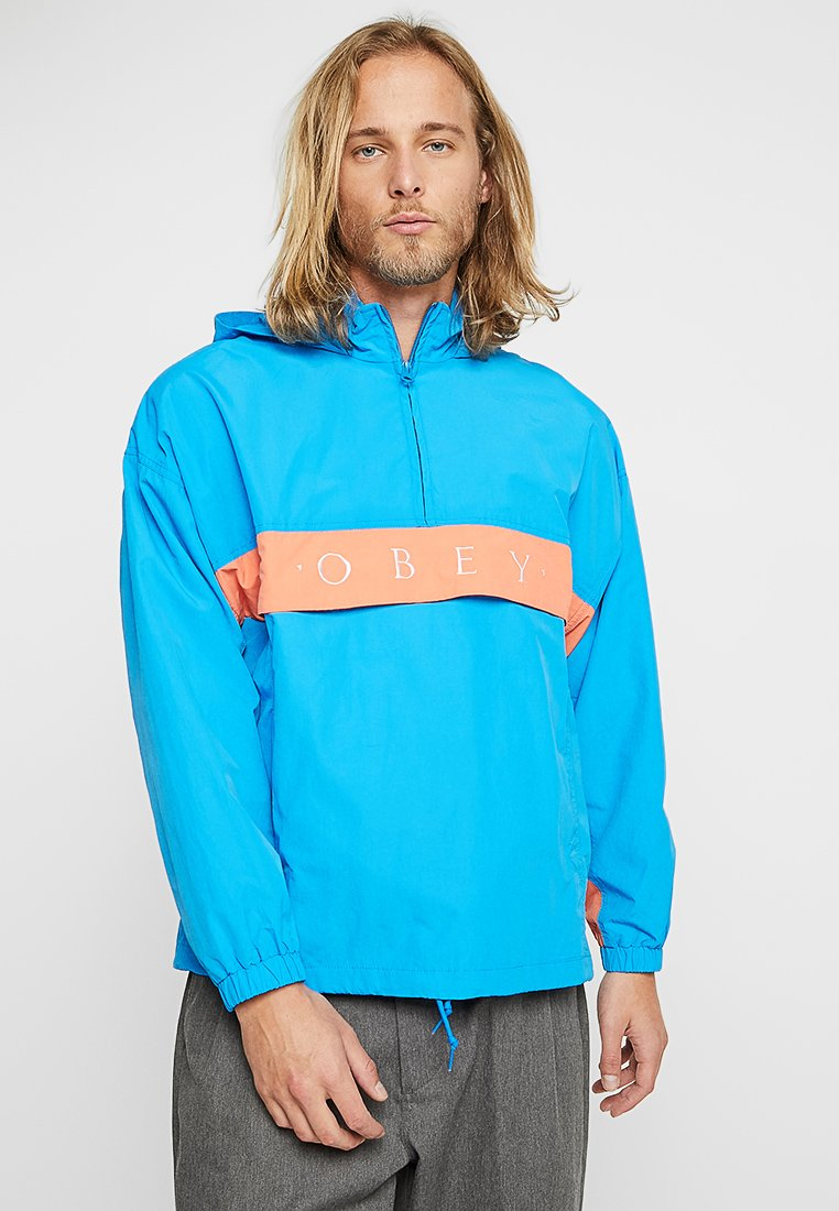 Obey Clothing - TITLE - Giacca a vento - sky blue