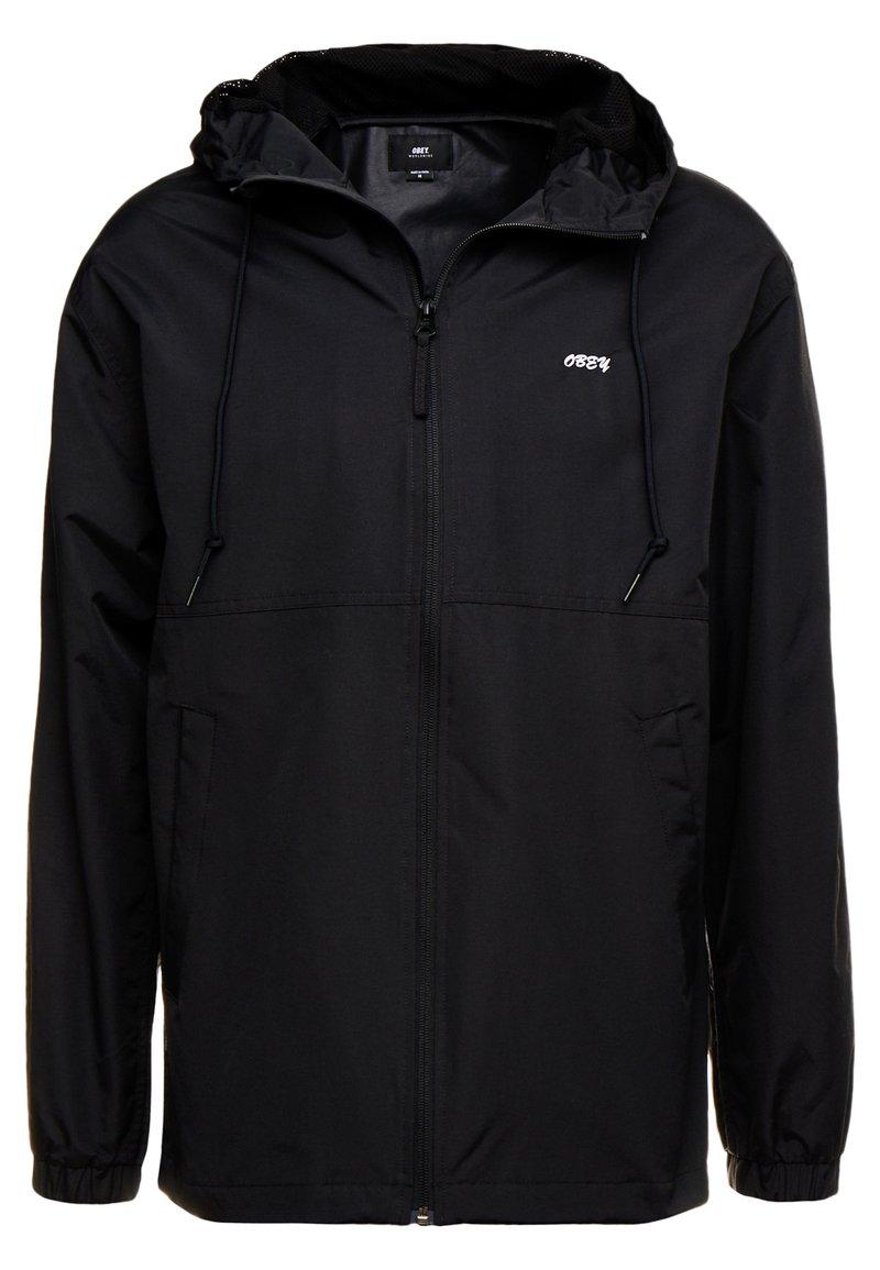 Obey Clothing - CAPTION JACKET - Leichte Jacke - black