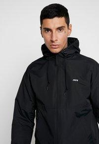 Obey Clothing - CAPTION JACKET - Giacca leggera - black - 4