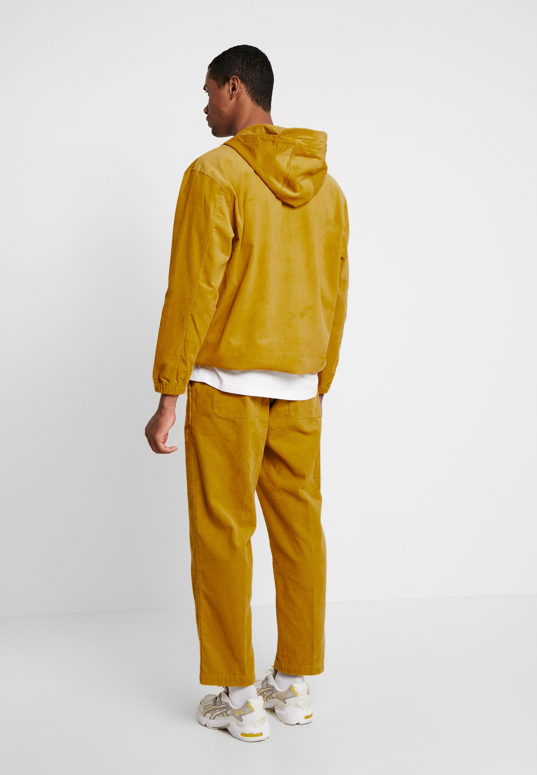 Obey AnorakVeste Clothing Coupe vent Palm Golden Shiner 1lKJcTF