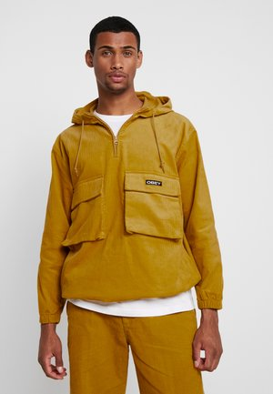 SHINER ANORAK - Windbreaker - golden palm