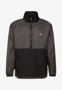 Obey Clothing - NORE POP OVER ANORAK - Winterjas - black - 3