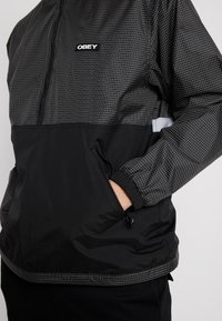 Obey Clothing - NORE POP OVER ANORAK - Winterjas - black - 4