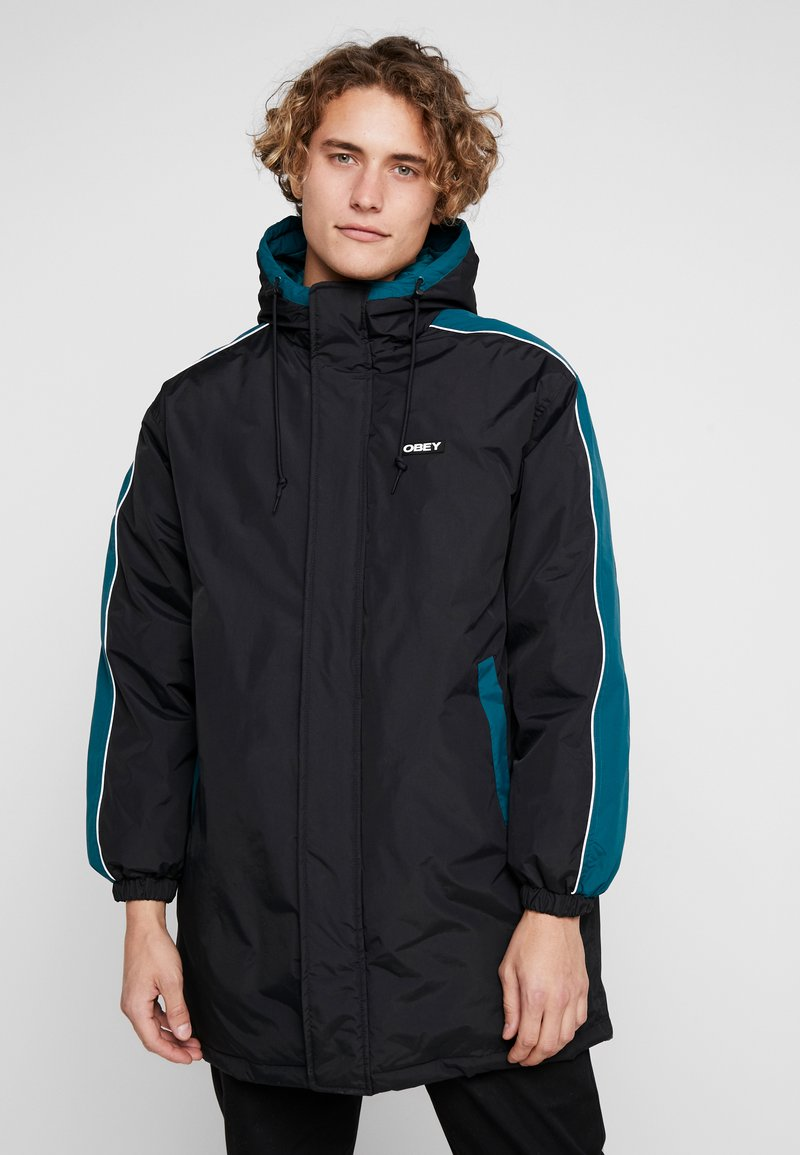 Obey Clothing - MAJOR STADIUM JACKET - Parka - black