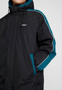 Obey Clothing - MAJOR STADIUM JACKET - Parka - black - 4