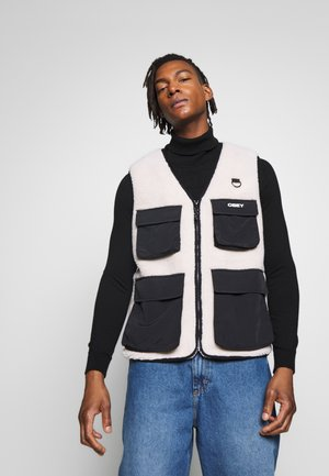 MOUNTAINEER VEST - Bodywarmer - natural