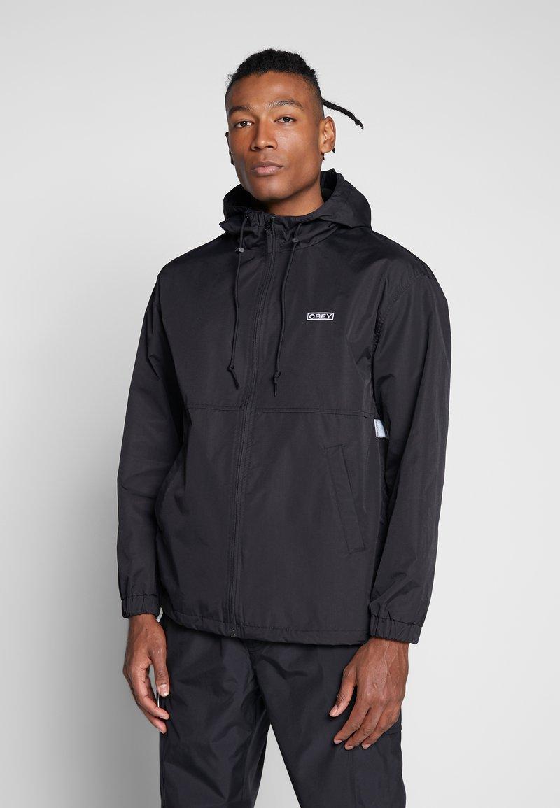 Obey Clothing - CAPTION JACKET - Lehká bunda - black