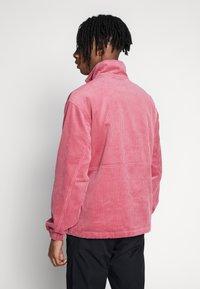 Obey Clothing - HUGO ANORAK - Summer jacket - cassis - 2