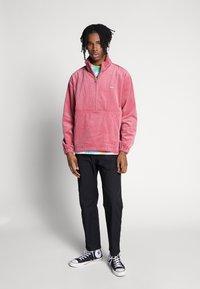 Obey Clothing - HUGO ANORAK - Summer jacket - cassis - 1