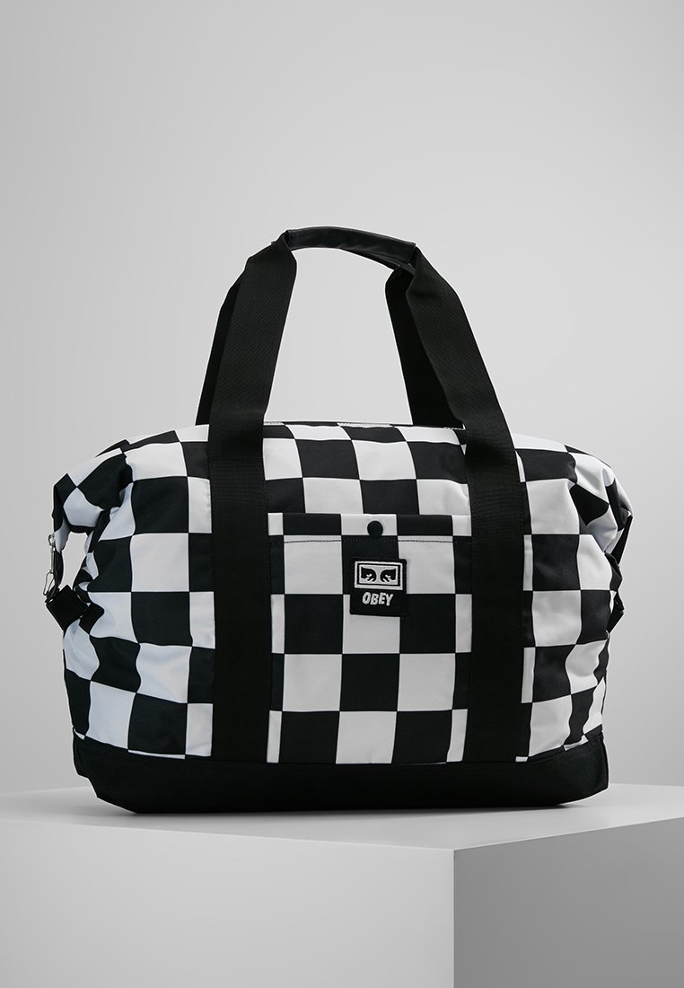 Obey Clothing - DROP OUT DUFFLE - Weekend bag - checker