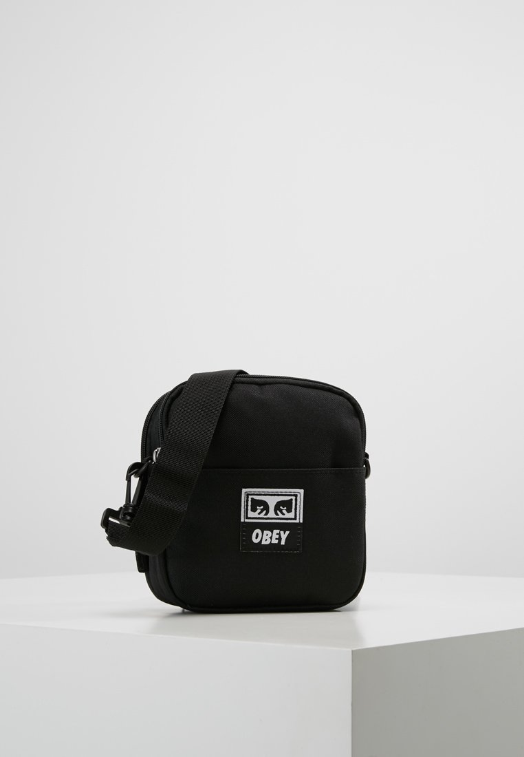 Obey Clothing - DROP OUT TRAVELER - Torba na ramię - black