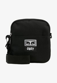 Obey Clothing - DROP OUT TRAVELER - Torba na ramię - black - 5