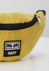 Obey Clothing - WASTED HIP BAG - Ledvinka - yellow - 3