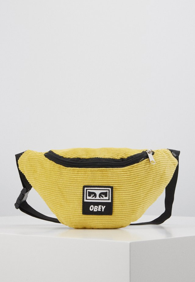 WASTED HIP BAG - Saszetka nerka - yellow