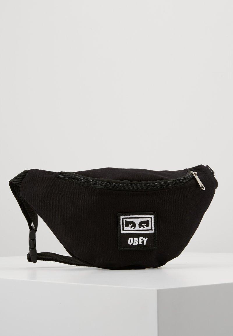 Obey Clothing - WASTED HIP BAG - Rumpetaske - black twill