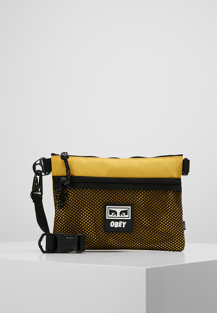 Obey Clothing - CONDITIONS SIDE BAG - Across body bag - energy yellow