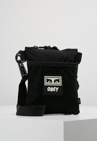 Obey Clothing - CONDITIONS SIDE POUCH - Across body bag - black - 0