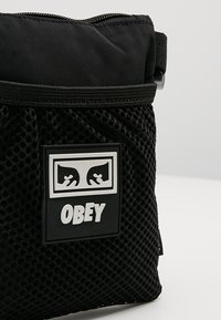 Obey Clothing - CONDITIONS SIDE POUCH - Across body bag - black - 7