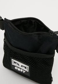 Obey Clothing - CONDITIONS SIDE POUCH - Across body bag - black - 4