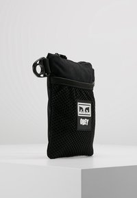 Obey Clothing - CONDITIONS SIDE POUCH - Across body bag - black - 3