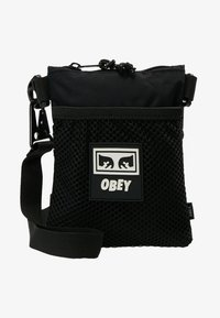 Obey Clothing - CONDITIONS SIDE POUCH - Across body bag - black - 6