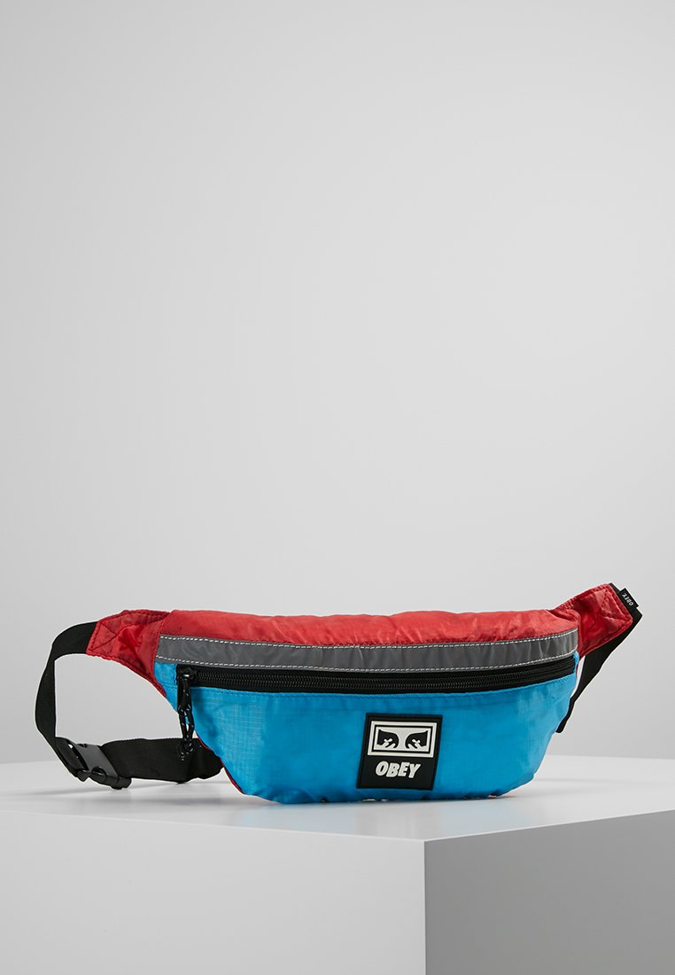 Obey Clothing - RIPSTOP DAILY SLING BAG - Riñonera - pink/blue