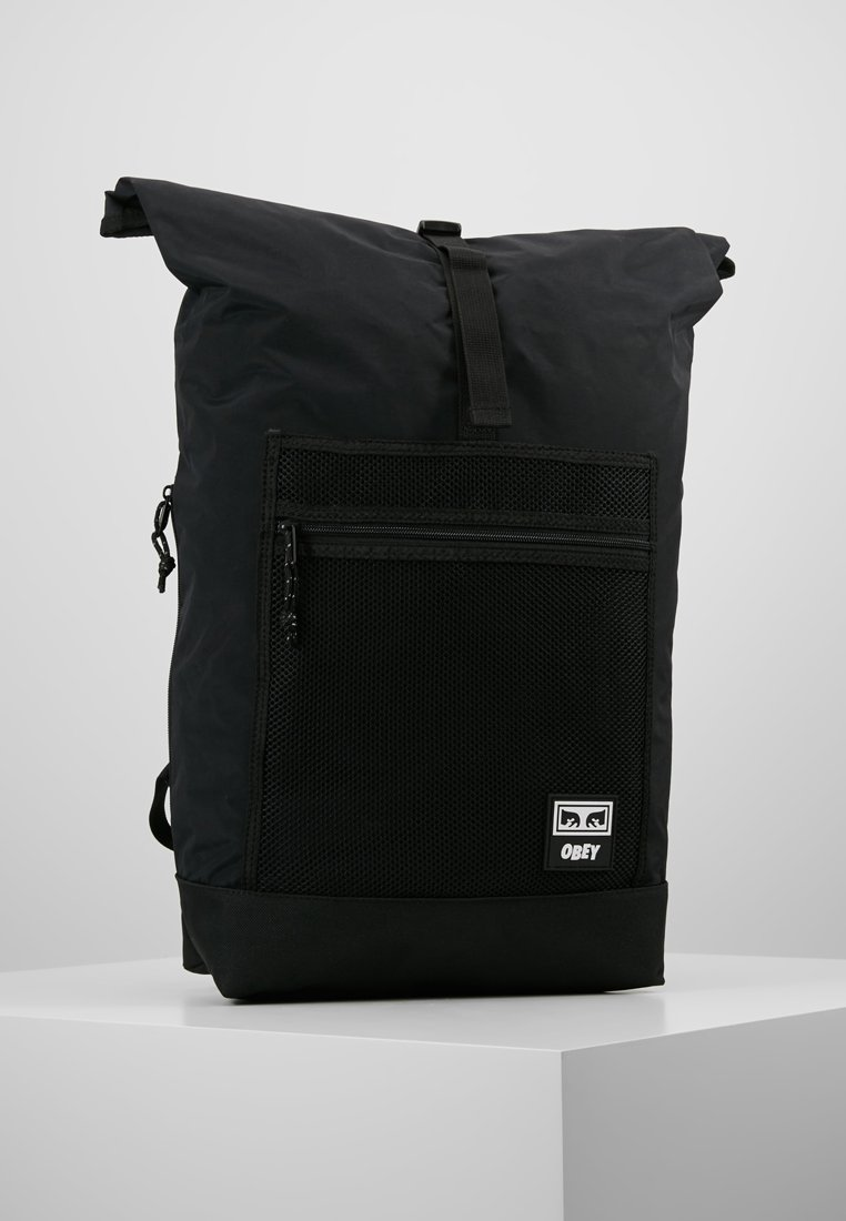 Obey Clothing - CONDITIONS ROLLTOP BAG - Rugzak - black