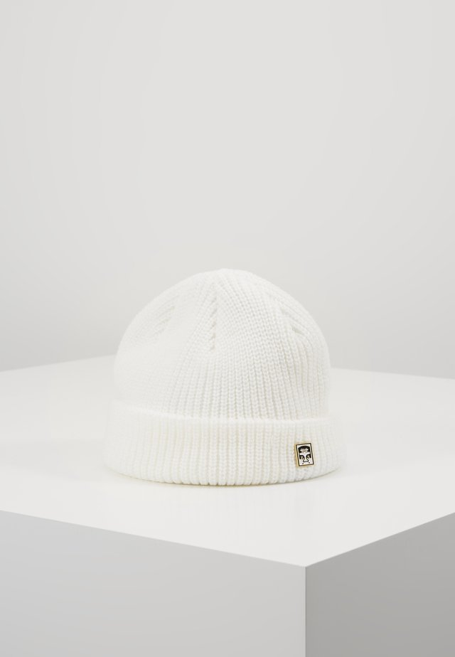 MICRO BEANIE - Mütze - white