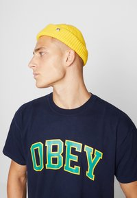 Obey Clothing - MICRO BEANIE - Beanie - sulphur - 1