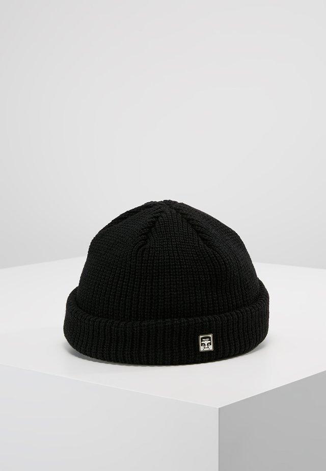 MICRO BEANIE - Lue - black