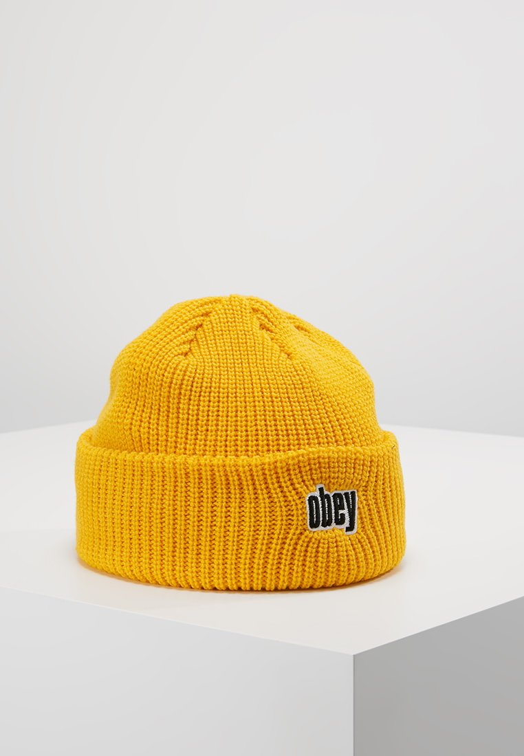 Obey Clothing - JUNGLE BEANIE - Lue - dusty yellow