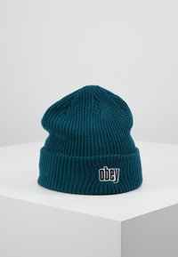 Obey Clothing - JUNGLE BEANIE - Lue - pine - 0