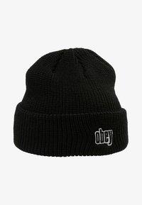 Obey Clothing - JUNGLE BEANIE - Čepice - black - 3