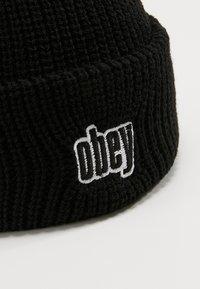 Obey Clothing - JUNGLE BEANIE - Čepice - black - 4